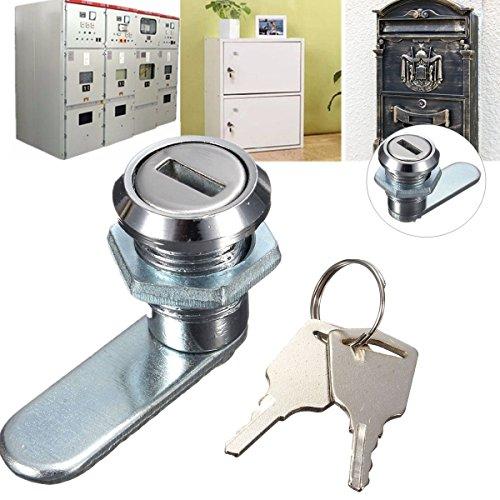 BephaMart Cam Lock-Schreibtisch Schublade Schrank Schloss mit 2Schlüssel für Arcade Postfach Datei Schrank Versand und Verkauf