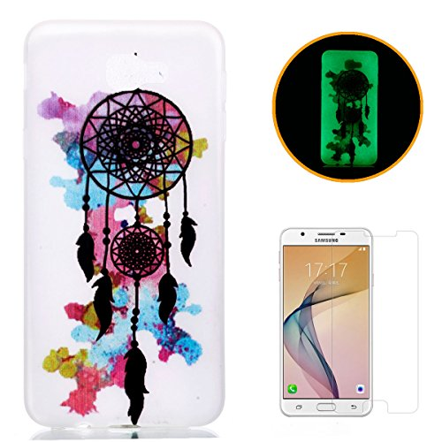samsung-galaxy-on5-2016-silicone-gel-case-with-free-screen-protectorkasehom-luminous-effect-noctiluc