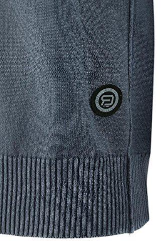 R.E.D. by EMP V-Neck Sweatshirt Sweat-Shirt grau Grau