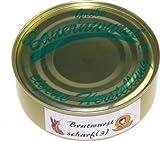 Schwarzwald Metzgerei: Dosenwurst Chili - Grobe Bauernwurst (scharf) 200g