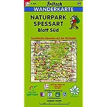 Fritsch Karten, Nr.99, Naturpark Spessart, Blatt Süd (Fritsch Wanderkarten 1:50000)
