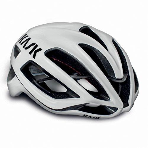 Kask Protone - Casco de ciclismo multiuso, color Blanco, talla Größe L