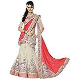 Seller King Women's Net Lengha Choli (re...