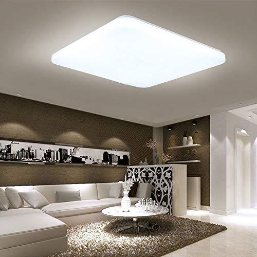 HENGMEI 48W Lámpara techo LED Ultradelgado Plafón