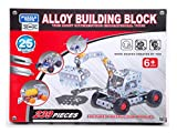 #9: 239 Pieces Metal Alloy Building Block With You Can Create 25 Different Models Interesting Puzzle Educational Mechanic Toys