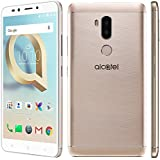 Alcatel A7 XL, Tempered Glass, Premium Real 2.5D 9H Anti-Fingerprints & Oil Stains Coating Hardness Screen Protector Guard For Alcatel A7 XL