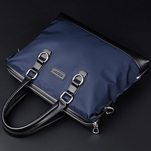 Männer Tasche Wasserdichte Handtasche Männer Aktentasche Business Schultertasche Messenger Tasche Oxford Stoff Tasche Leinwand Freizeit-Paket B