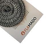 Flamado Ofendichtung/Dichtschnur (Glasgewebe) 16mm / 4m