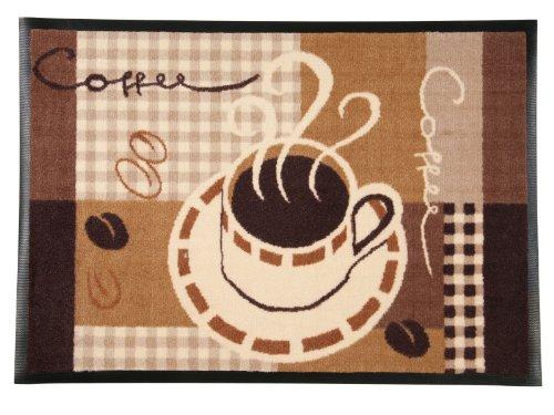 Use & Wash® Fußmatte Cafe Noir - 3 Größen wählbar - 60x85cm