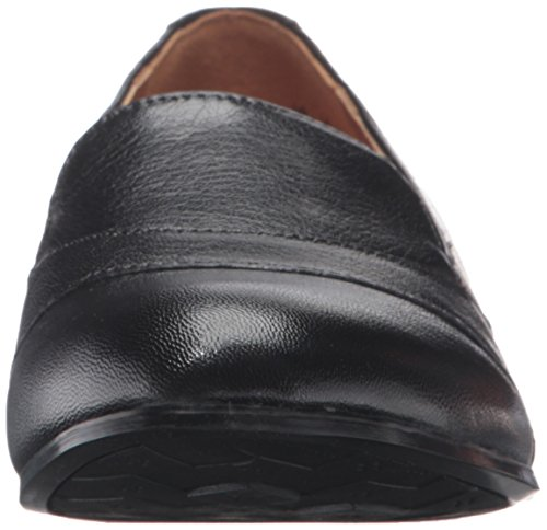 Naturalizer Channing Cuir Mocassin Black