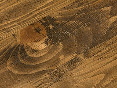 massivum Lowboard Cajon 128x58x40 cm Pinie braun lackiert - 6