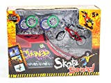 Skatepark Ramps, Mini Finger Bike Skateboard Playset Diapasón Skate Park Kit con bicicletas para Tech Deck Circuit Board Ultimate Sport Entrenamiento Atrezzo Toy Christmas Gift para niños (B)