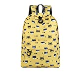 Best Emoji bookbags For Girls - Winnerbag polyester imperméable Sac à dos Mignon Femmes Review