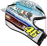 AGV Pista GP-R Rossi Winter Test 2017 Integralhelm S (55/56)