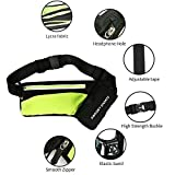 #10: Premium quality elegant fashionable Lightweight Unisex Waterproof Outdoor Running/Cycling/Gyming/Hiking/traveliing/workouts sports Hydration Multipurpose Waist bag/pouch with water bottle holder for 500 ml
