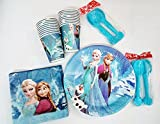 #7: Art box Complete Doll theme party supply Essentials Glasses ,tissues , paper plates and spoons for 20 guest