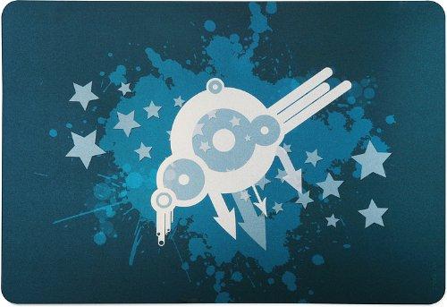 Speedlink Lares M Notebook Cover 15 Zoll/38,1 cm (Aufkleber/Schutzfolie, zuschneidbar, 33x23cm, Raumschiff)