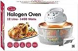 Quest White Halogen Oven, 12 L, 1300 Watt