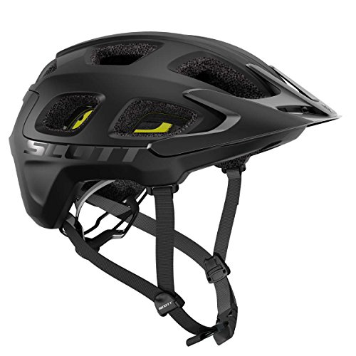 Scott Vivo Plus MTB Fahrrad Helm schwarz 2018: Größe: M (55-59cm)
