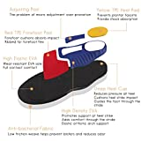 Valife Orthotic Double Insoles Full Length Arch Support with Shock Absorption for Flat Feet,Plantar Fasciitis,Over-Pronation, for Running,Walking,Unisex (UK Size(5.5~6.5)(38~40))