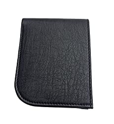 Friends & Company Pure Black Leather Wallet(Black)