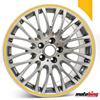"""Adhesivos Motoking para llantas 360 °/rueda completa/desde 15"""" hasta 18""""/color y ancho opcionales"""