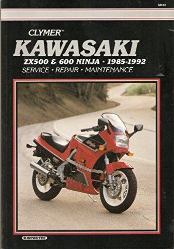 Kawasaki: Zx500 and 600 Ninja, 1985-1992 : Service, Repair, Maintenance/M452 by Ron...