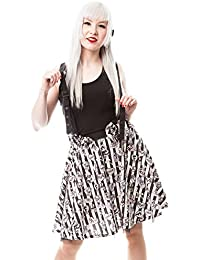 dab0ed68f3 Cupcake Cult Dark Candy Suspender Skirt (Multicoloured)