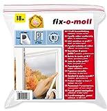 Fix-O-Moll Fensterdichtung P weiß 2–5mm x 9mm 18Meter