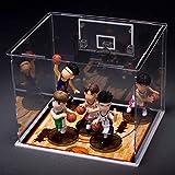 N / A Amico Regalo Regalo Modello Figurina Giocattolo Slam Dunk Q Versione Modellino Mini Campo da Basket Rack Xiangbei Teamhanamichi Sakuragirukawa Kaedepuppetfigurine Toy Puppet-c_1 Versione