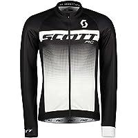 Scott RC AS WP Winter Fahrrad Trikot schwarz/weiß 2018