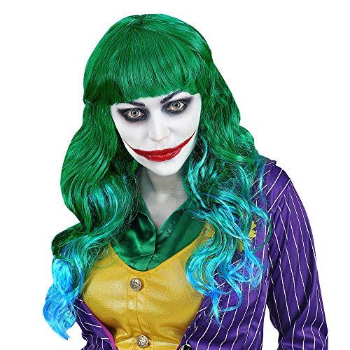 Widmann 02077 Perücke Evil Joker, Damen, ()