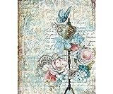 Carta Di Riso Fiori E Fittizio, La Stamperia, A4, Decoupage Carte Di Riso, Hobby, Colori