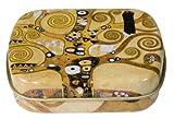 Fridolin 18612'Gustav Klimt–Árbol de la vida' Mini caja de metal