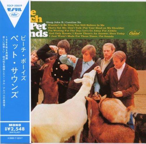BEACH BOYS - PET SOUNDS : MONO MINI LP REPLICA By The Beach Boys (0001-01-01) (Beach Boys-pet Sounds Mono)