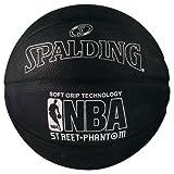 Spalding NBA Street Phantom Outdoor Basketball (Größe 7/74,9cm), Silber/schwarz, Size 7/29.5
