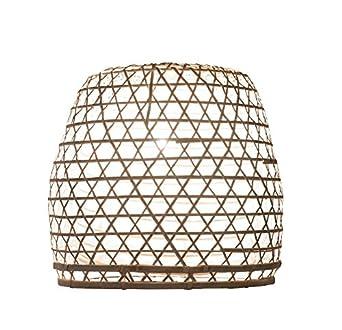 Handgemachte Lampenschirme Aus Bambus Als Hngelampe Pendelleuchte Ber Esstisch Im Kinderzimmer Oder Wohnzimmerlampe Amazonde Beleuchtung
