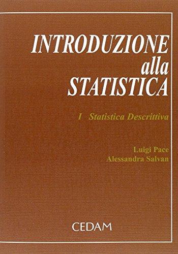 Introduzione alla statistica: 1