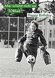 Postkarte A6 +++ LUSTIG von modern times +++ FUSSBALL ALTER SCHÜTZT NICHT VOR TORHEIT +++ ALLERHAND BIEBER, Tim/The Image Bank/getty image