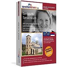 Serbisch-Basiskurs mit Langzeitgedächtnis-Lernmethode von Sprachenlernen24: Lernstufen A1 + A2. Serbisch lernen für Anfänger. Sprachkurs PC CD-ROM für Windows 10,8,7,Vista,XP / Linux / Mac OS X