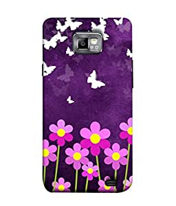 PrintVisa Designer Back Case Cover for Samsung Galaxy S2 I9100 :: Samsung I9100 Galaxy S Ii (Abstract Illustration Colorful Decorative Graphic Vector Symbol)