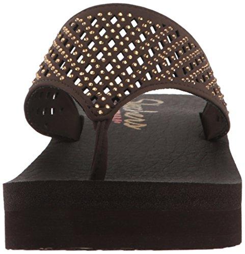 SKECHERS - VINYASA FLOW 38648 - chocolate Chocolate