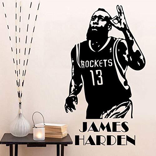 James Küche (Basketballstar James Harden Studentenwohnheim Schlafzimmer Wandaufkleber 35x60cm)
