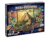 Schipper 609260486 - Malen nach Zahlen Maya Pyramide, 50x 80cm
