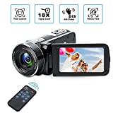 Digital Camcorder with IR Night Vision, Weton 1080P Full HD Digital Video Camera