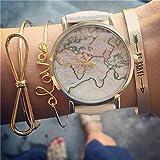 Danzh Love Letters Bowknot Armband Set Modische Charming Elegante Brave Printed Bangle Offenen Armband Set Schmuck Geschenk Für Frauen Mädchen