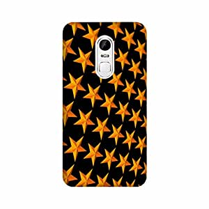 Aaranis designed Xiaomi Redmi Note 4 Mobile Backcover with perfect Matte Finishing pattern design Patterns & Ethnic(Yellow)
