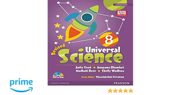 universal science by pearson for cbse class 8 amazon in anita sood