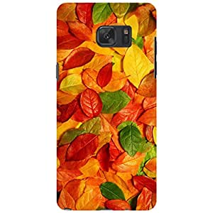 URBAN KOLOURS Original Designer Printed Hard Case Back Cover for Samsung Galaxy Note 7 (Leaves of Life)