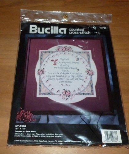My Child Counted Cross Stitch Kit by Bucilla -